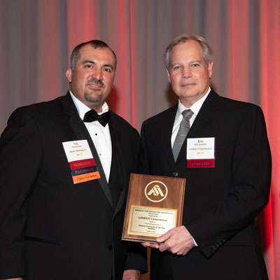LANDCO ASA's 2018 General Contractor of the Year Award